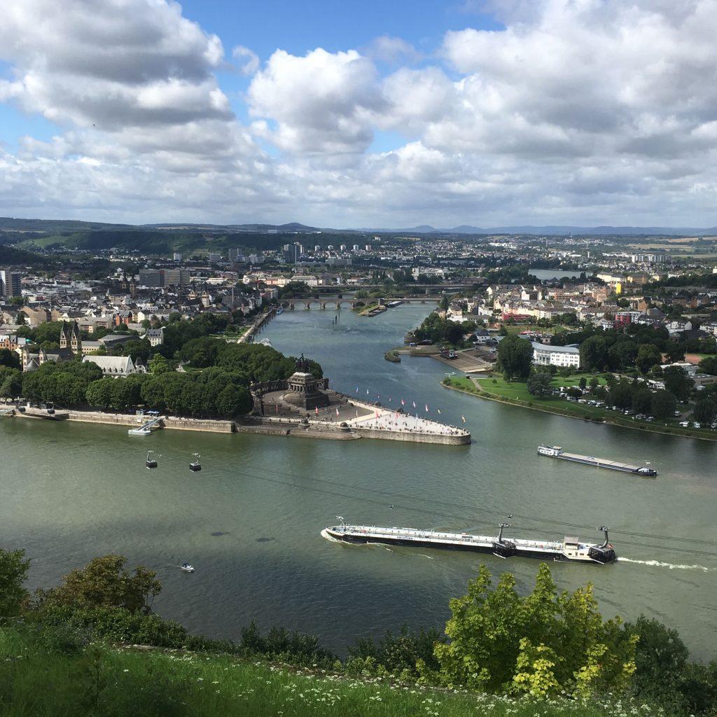 Rhine River, Koblenz, Germany