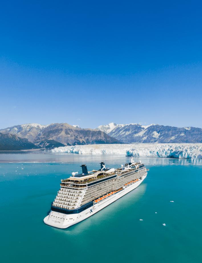 Celebrity Eclipse, Hubbard Glacier - Alaska, Photo by Celebrity Cruise Line