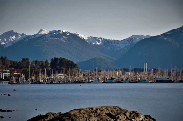 Sitka Harbor, Alaska