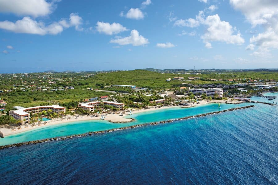 Aerial view - Photo credit Sunscape Curacao Resort, Spa & Casino