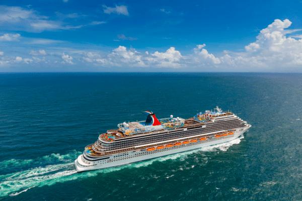 Carnival Horizon at Sea - Photo by Carnival Cruise Line