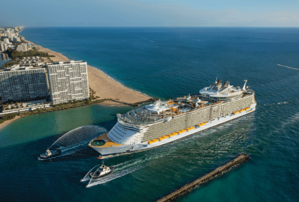 Oasis of the Seas in Ft. Lauderdale - Photo by Royal Caribbean Cruise Line