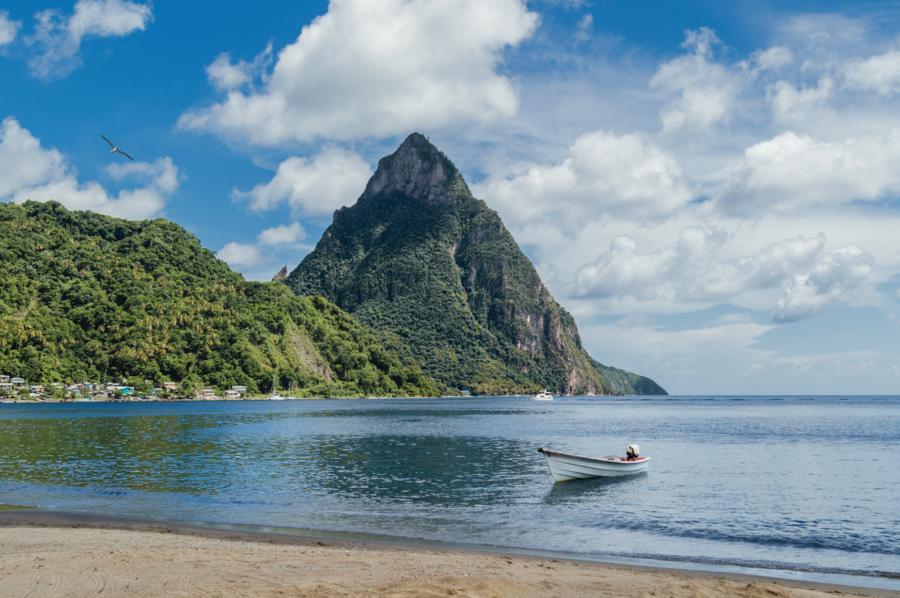 St. Lucia Beach - Photo by Royal Caribbean Cruise Line
