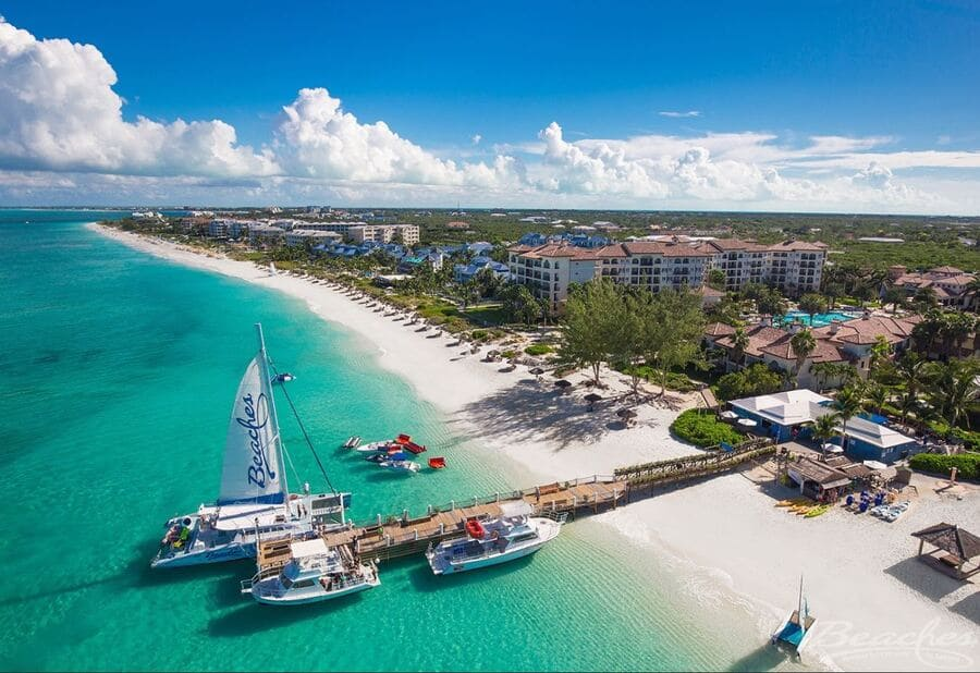 Aerial View of Beaches Turks & Caicos - Photo by Beaches Resorts
