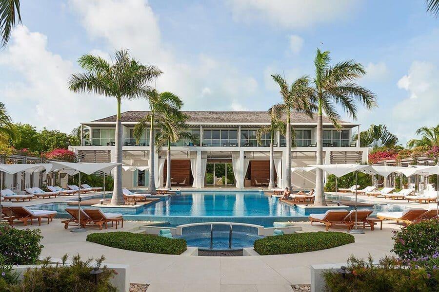 Overview of Pool Area at Wymara Resort - Photo by Wymara Resort & Villas