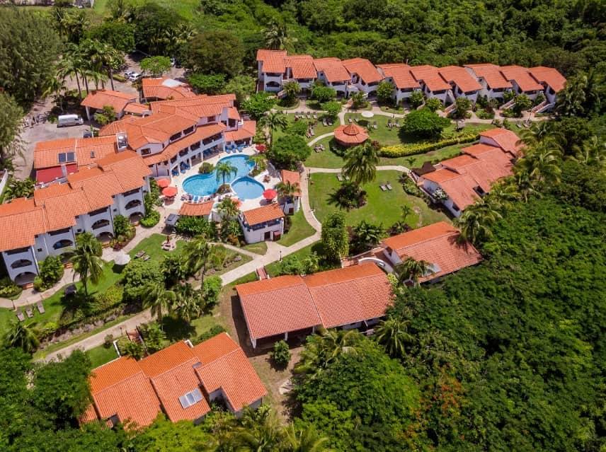 Aerial View at Sugar Cane Hotel & Spa - Photo by Sugar Cane Hotel & Spa