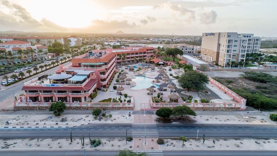 Aerial View - Photo credit Paradise Beach Villas