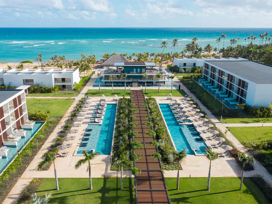 Aerial view - Photo credit Live Aqua Beach Resort Punta Cana