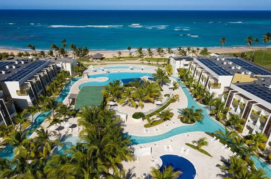 Aerial view of Now Onyx Punta Cana - Photo credit Expedia