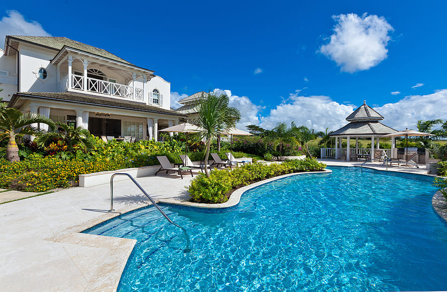 Exterior View from Pool - Photo credit VillasofDistinction