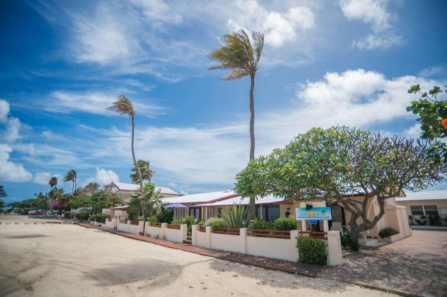 Outside View of Villas - Photo credit Aruba Beach Villas