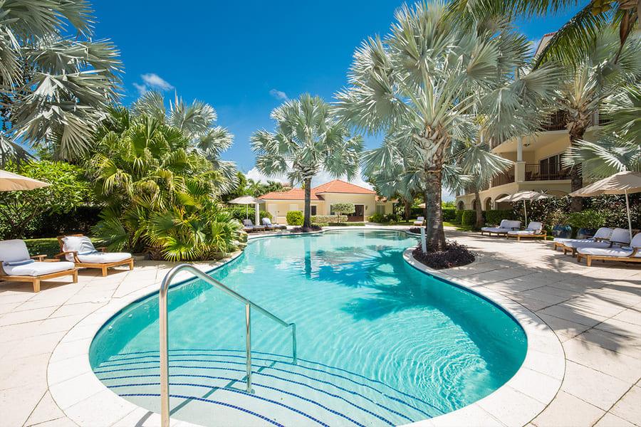 Pool Area at Villa del Mar - Photo credit Villa Del Mar