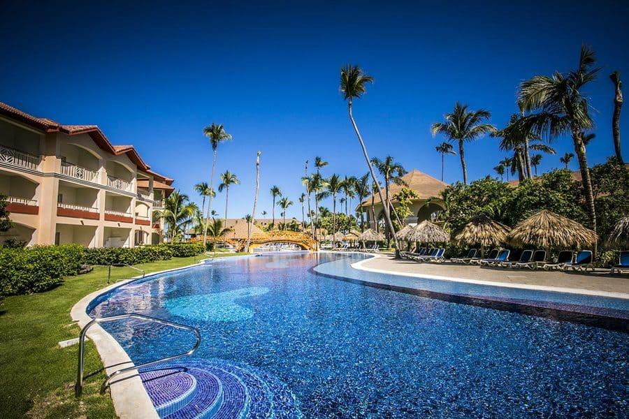 Pool area - Photo credit Majestic Colonial Resort Punta Cana