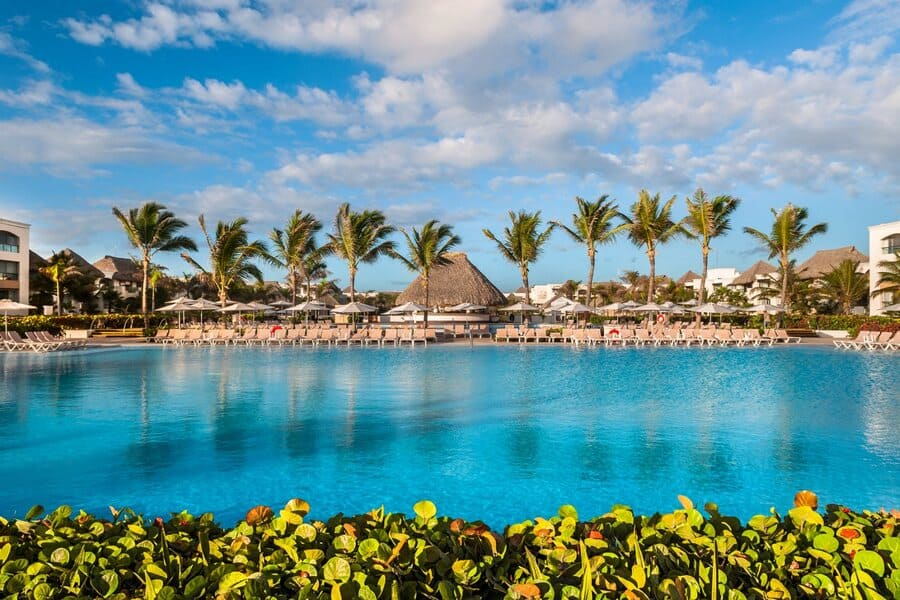 Pool view - Photo credit Hard Rock Hotel & Casino Punta Cana