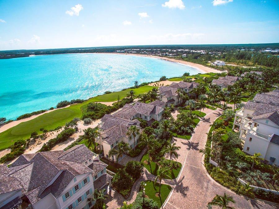 Aerial view - Photo credit Grand Isle Resort & Spa, Great Exuma