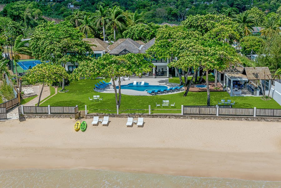 Aerial view - Photo credit Malatai Villa