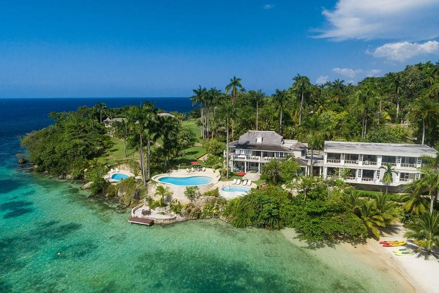 Aerial view - Photo credit Rio Chico Private Estate
