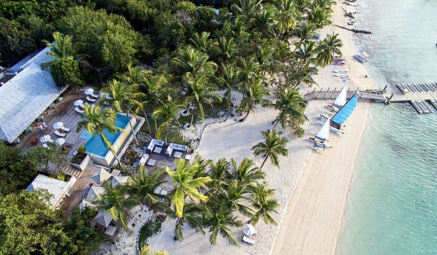 Aerial view - Photo credit Tiamo Resort
