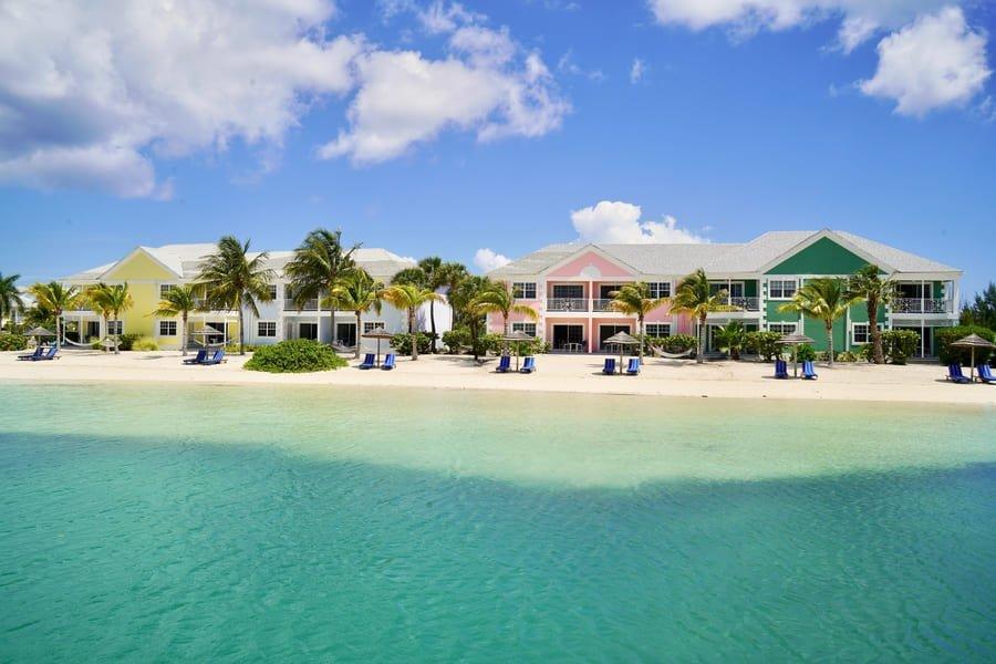 Beach area - Photo credit Sandyport Beach Resort