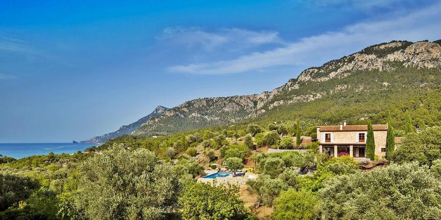 Exterior view of Sa Terra Rotja, Mallorca, Spain - Photo credit Akvillas