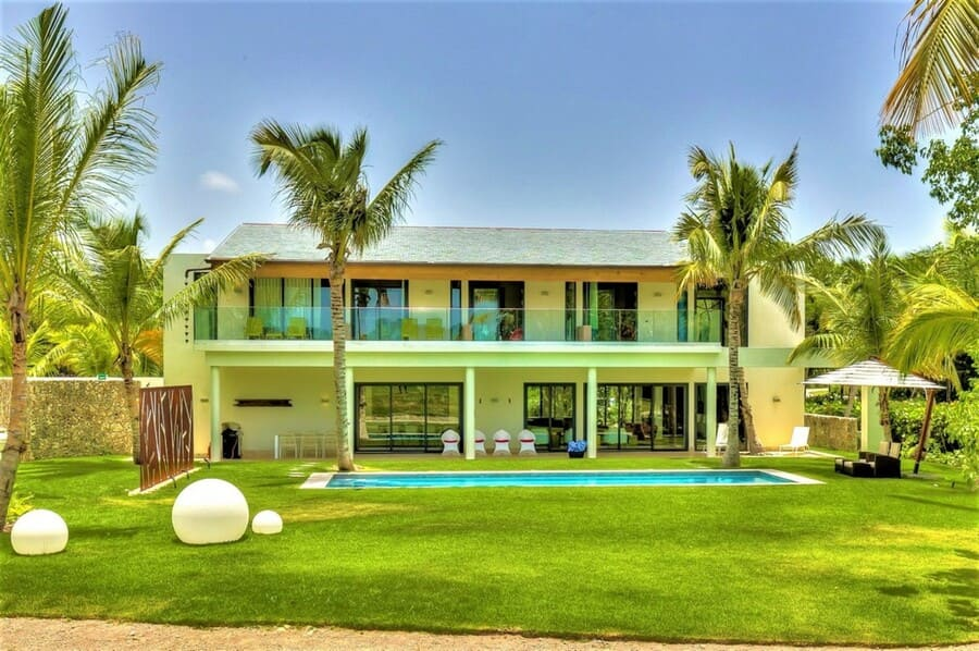Exterior view of Villa Starfish - Photo credit Exceptionalvillas
