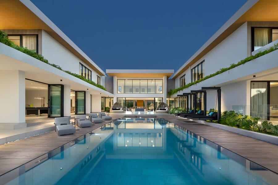 Pool area - Photo credit Villa Yarari Royale