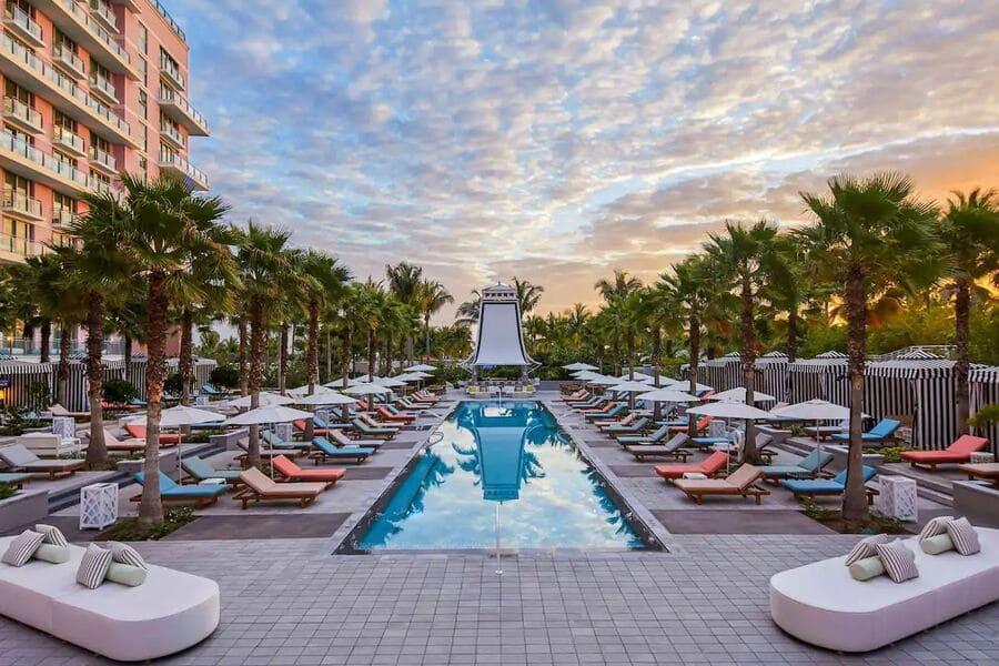 Pool area at SLS Baha Mar - Photo credit Expedia
