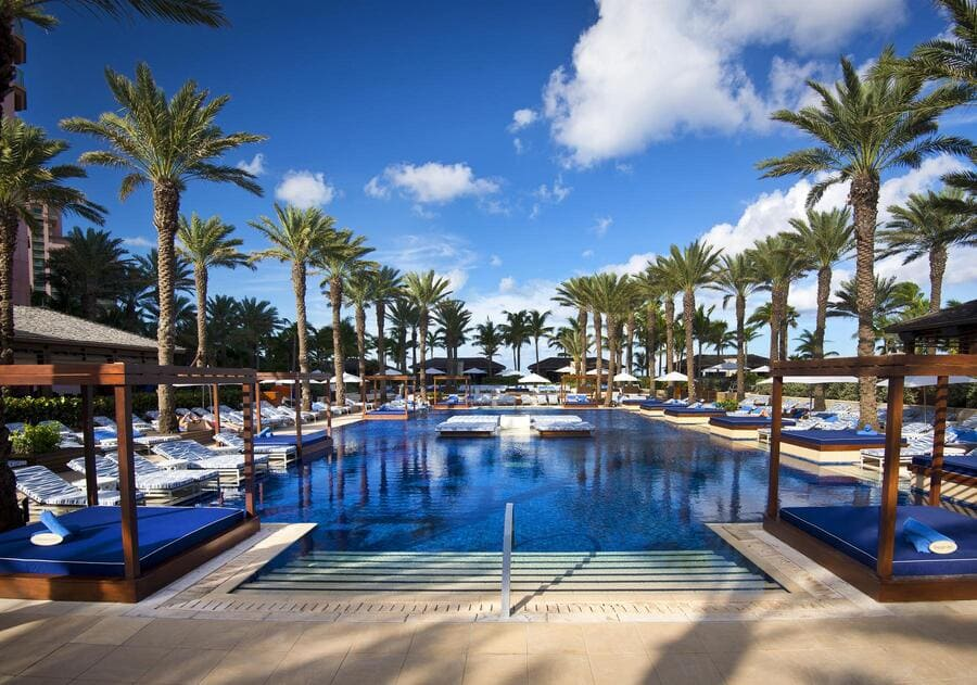 Pool area at The Cove - Photo credit Atlantis Paradise Island Bahamas