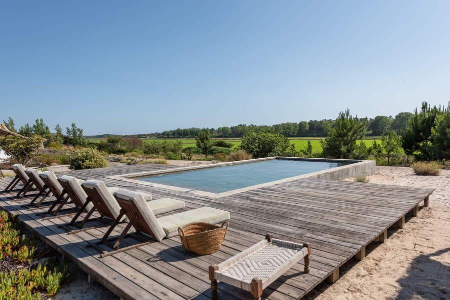 Pool at Casa Citronella, Comporta, Portugal - Photo credit LeCollectionist