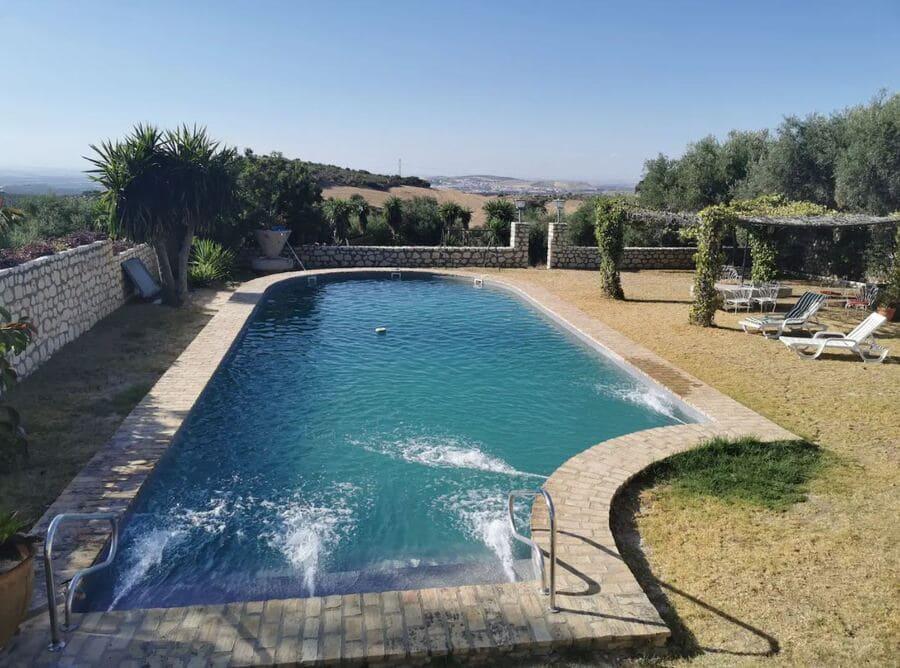 Pool at Casa de Caballos, Andalucía, Spain - Photo credit Airbnb