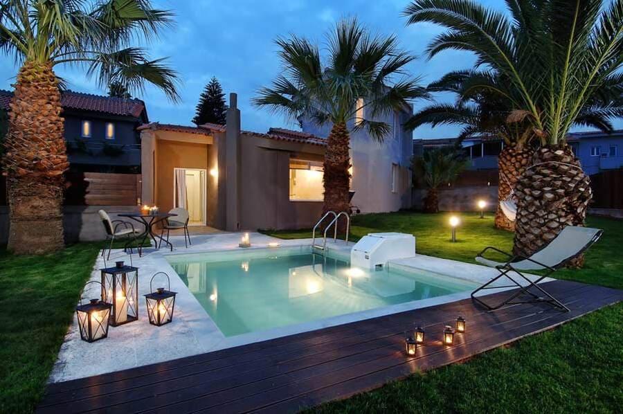 Pool at Paradise Island Villas, Crete, Greece