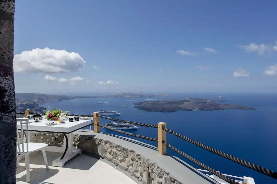 Sea View from Terrace at The Windmill Villa - Photo credit Hotels