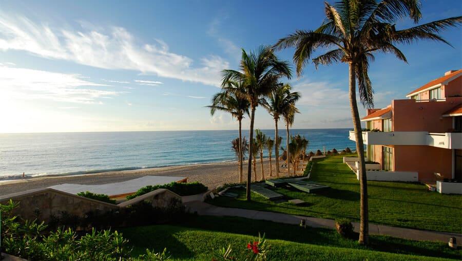 Sea views from the Hotel & Villas - Photo credit Omni Cancun Hotel & Villas