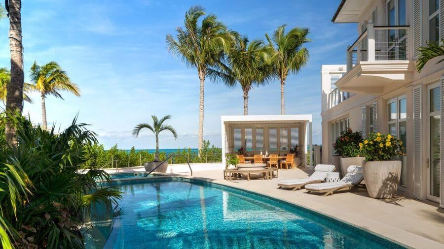 Six-bedroom Villa with Infinity Pool & Deck - Photo credit Rosewood Baha Mar