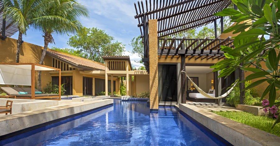 Spa & Pool Villa - Photo credit Banyan Tree Mayakoba